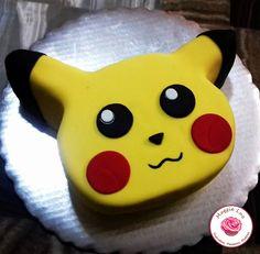 Picachu Cake! Pokemon Birthday, 5th Birthday, Birthday Parties, Birthday Cakes, Birthday Ideas, Pokemon Snacks, Pokemon Cakes, Cupcakes, Cupcake Cakes