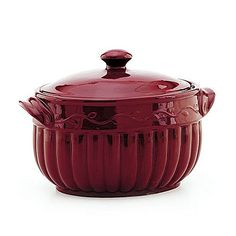 I want this ... Celebrating Home Bean Pot - Love how easy it is to clean, and how it keeps food warm