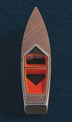 Gorgeous top deck pattern