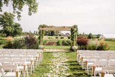DIY Wedding Ceremony at Heritage Prairie Farm