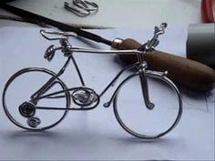 Wire Art, Bicycle, Facebook, Youtube, Crafts, Wedding, Lyrics, Valentines Day Weddings, Bike