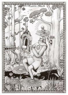 Juxtapoz Magazine - New drawings and painting from Interesni Kazki