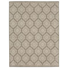 Home Decorators Collection Taurus Grey Cream 4 ft. x 6 ft. Area Rug - 542856 - The Home Depot