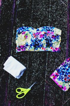 DIY No-Sew Bandeau From A Dress — The Free Spirited