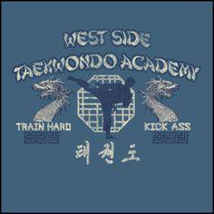 VINTAGE RETRO TAEKWONDO OLD SCHOOL T-SHIRT / Taekwondo Martial Art Tee Shirt