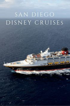 San Diego Disney Cruises will head to Baja California, the Mexican Riviera, Vancouver and even through the Panama Canal. Here's the schedule and a run-down of what's on-board. Cruise Destinations, Family Vacation Destinations, Cruise Vacation, Vacation Spots, Disney Wonder Cruise, Disney Cruise Ships, California Getaways, Baja California, San Diego Area