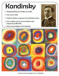 Kandi Apples: In the style of Kandinsky – Art Lesson Plan - Art Lesson Plans Preschool Art Projects, Art Activities, Kid Art Projects, Preschool Art Lessons, Colour Activities, Art Lessons For Kids, Back To School Art, Art School, School Style