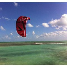 We teach kiteboarding using our boat at two main locations in Key Biscayne: the Crandon Sand Bars and at the West Point Sand Bars. www.southfloridakiteboarding.com