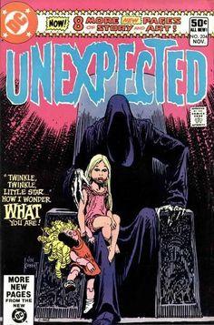 Unexpected #204. Cover by Joe Kubert (1980).