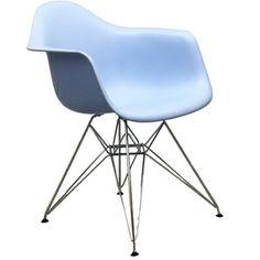 Paris Wire Blue Arm Chair