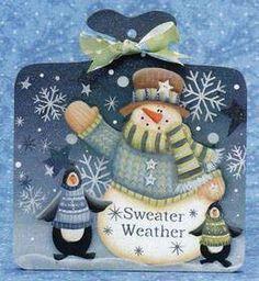 LAURIE SPELTZ - snowman - sweater weather