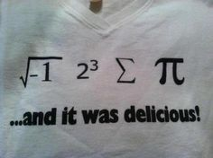 math pun... Proud that I could figure this one out.