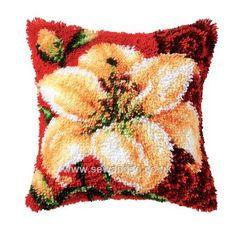Buy Lily Latch Hook Kit Online at www.sewandso.co.uk