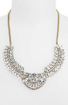 BP. Vintage Crystal Statement Necklace (Juniors) available at #Nordstrom