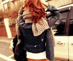 Leather and knits