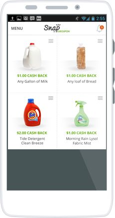 Browse offers on your smart phone