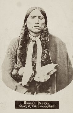Quanah Parker See more Native American Images: https://tskies.com