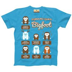 A Globetrotter's Guide to Bigfoot — Kid's T-shirt