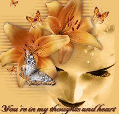 você está em meus pensamentos e coração