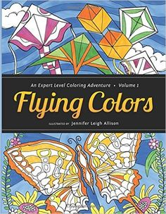 Flying Colors Adult Coloring Book Giveaway