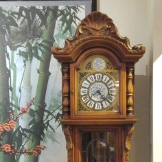 Vintage grandfather clock tower with roman numbers. Available exclusively at Red Sega Seeds Singapore. Visit Us Today! Best Places In Singapore, Grandfather Clock, Unique Vintage, Vintage Furniture, The Good Place, Roman, Numbers, Seeds, Tower