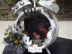Searchsku: Father's Day Altered Clock