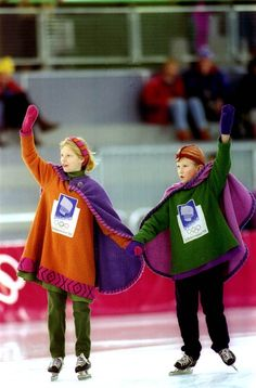 1994, Lillehammer: Kristin and Hakon    The 1994 Winter Olympics in Lillehammer, Norway, brought us mascots Kristin and Hakon: Two Norwegian children dressed in Viking clothes.