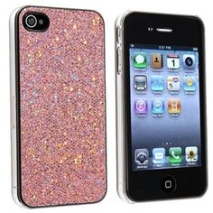 Snap-on Case Compatible With Apple iPhone 4 4S , Light Pink Bling by Generic, http://www.amazon.com/dp/B008TP3D4I/ref=cm_sw_r_pi_dp_iHPOqb1T9C4VQ