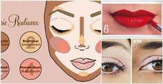 Demystify the makeup counter with these easy-to-follow diagrams.