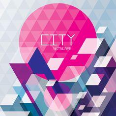 City Skyscape Vector Graphic