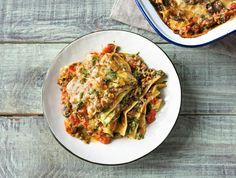 Romige lasagne met rundergehakt en spinazie Recept | HelloFresh