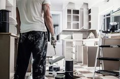 How To Properly Refinish Kitchen Cabinets In 4 Steps Home Renovation, Home Remodeling, Kitchen Remodeling, Painting Laminate Cabinets, Kitchen Cabinet Colors, Kitchen Cabinetry, Cupboards, Diy Cabinets, Refinish Cabinets