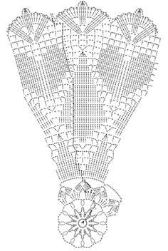 Herz..Tischdecke häkeln - crochet doily