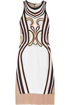 Etro  Printed silk-blend dress. I like this digital print. A lot.