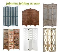 Functional & Fabulous Folding Screens