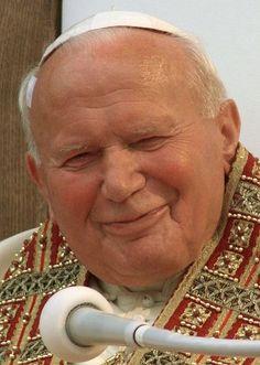 Papa Juan Pablo II...