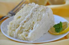 Lemonade Cake: Quench your sweet tooth with this tall drink of citrus dessert. Use lemonade concentrate (small frozen lemonade) for cake, icing and then make yourself a drink with any left. Citrus, such as lemons, are high in the antioxidant Vitamin C. The antioxidant, Vitamin C is a water-soluble vitamin that plays an important role in growth and tissue repair. www.Holly Clegg.com Trim & Terrific Healthy Cookbooks