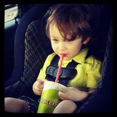 Happy Kids drink Juice It Up! #smoothie #fruit #kids #happy #healthy #snacks