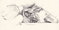 Animals by ChristinaMandy on DeviantArt Animal Sketches, Animal Drawings, Art Sketches, Cat Drawing, Painting & Drawing, Cat Tattoo, Animal Paintings, Crazy Cats, Cat Art