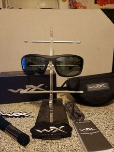 c38faa719cf8 Wileyx sunglasses Omega Smoke Lenses Polarized  fashion  clothing  shoes   accessories  mensaccessories