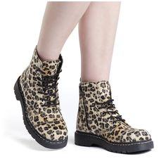 Leopard - Botas por TUK - Número Artículo: 231658 - desde $84.99 € - EMP Mailorder España:::La venta por correo y on line Rock Metal Punk: Camisetas, CD, DVD, Pósters, ropa e merchandise oficial
