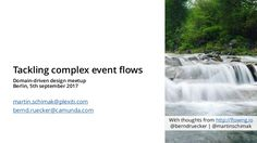 Slides from my talk together with Martin Schimak at the DDD meetup Berlin hold on 25th of September 2017 about complex event flows in DDD and microservice arch…