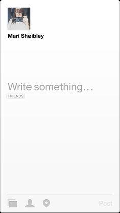 Facebook Paper iPhone compose screens screenshot
