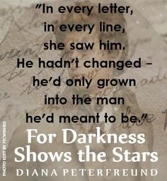 FicWishes: Who Am I to Say - FOR DARKNESS SHOWS THE STARS by Diana Peterfreund