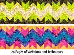 Afbeeldingsresultaat voor seminole patchwork passo a passo Strip Quilts, Scrappy Quilts, Quilt Blocks, Quilting Tutorials, Quilting Projects, Quilting Designs, Patchwork Patterns, Quilt Patterns, Seminole Patchwork