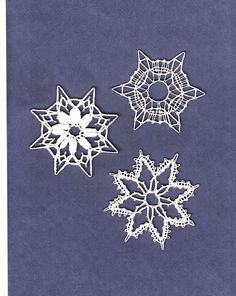 Kezdő csipkés koromban álmaim netovábbja volt, hogy vertcsipke karácsonyfa díszeket készíthessek. Az első év utáni nyári szünetben csak ezz... Crochet Snowflake Pattern, Crochet Snowflakes, Elsa, Patterns, Lace, Bobbin Lace Patterns, Stars, Christmas, Block Prints