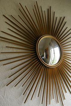 Grand miroir soleil chaty vallauris magnifique miroir de - Miroir soleil chaty vallauris ...