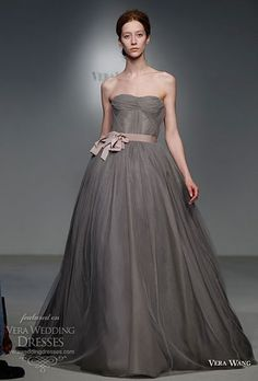 Beautiful ethereal dress for the bride who wants to shake things up a bit from the regular white attire :)