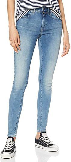 Passt perfekt  Bekleidung, Damen, Jeanshosen G Star Raw, Superenge Jeans, Star Wars, Super Skinny Jeans, Stars, Pants, Fashion, Blue Denim Jeans, Summer