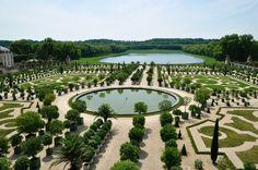 Uno de los Jardines de Versalles